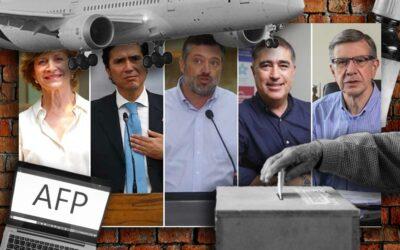 Resumen de la semana: lo que dijeron los presidenciables oficialistas antes y después de la decisión del TC por el tercer retiro