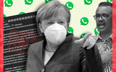 Es falsa la cadena que indica que médicos alemanes encontraron la cura contra el coronavirus