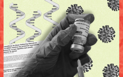 No, las vacunas con ARN mensajero no provocan cáncer