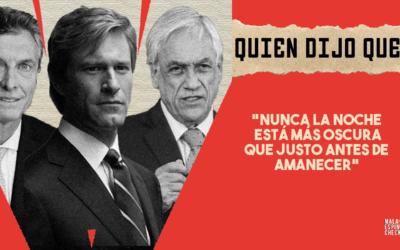 #QuiénDijoQué…. 1era semana de abril