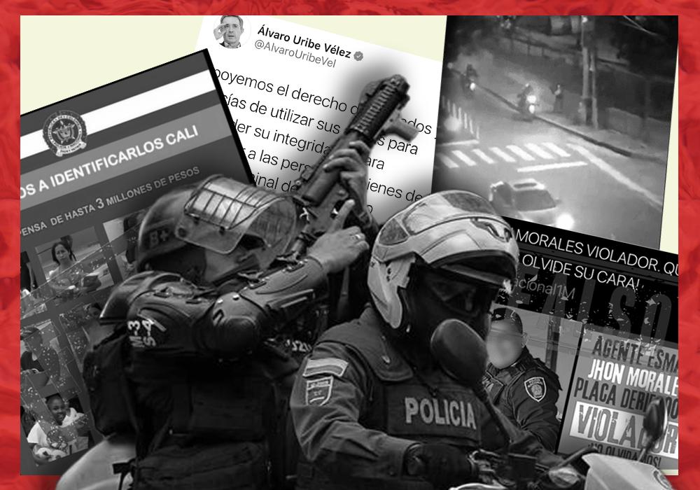 desinformaciones sobre las protestas en colombia