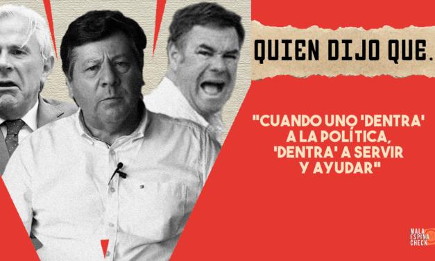 #QuiénDijoQué… 1era semana de mayo