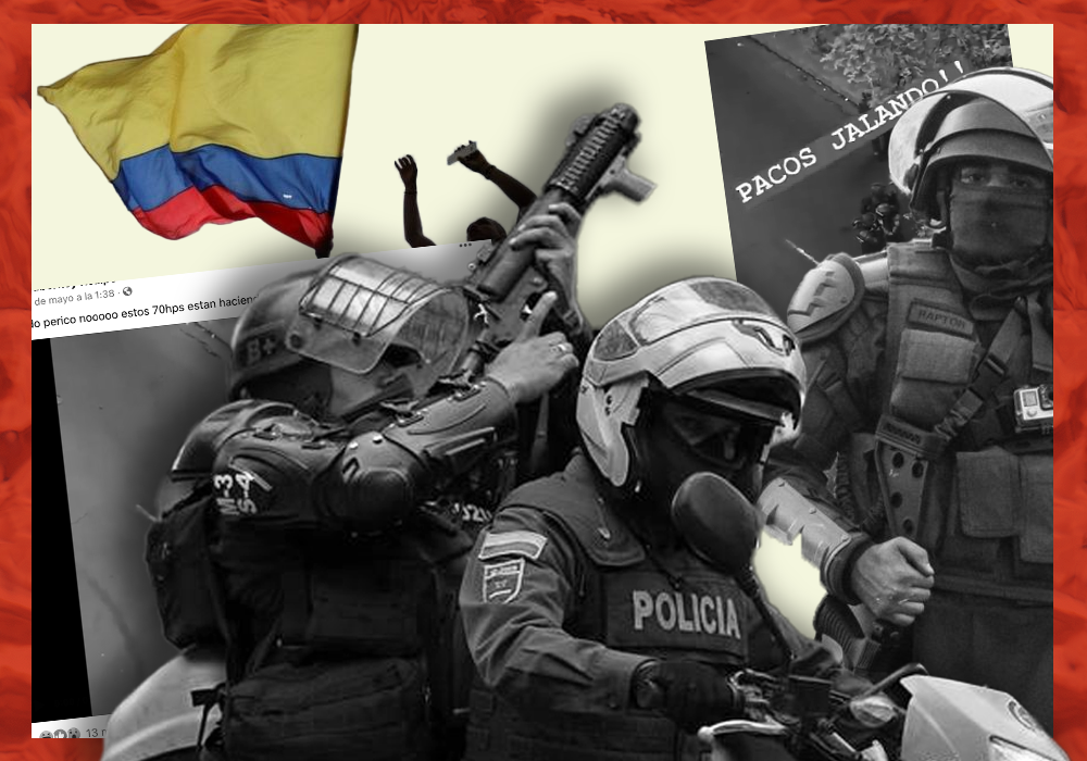 Video de policías inhalando una supuesta droga no es de Colombia, sino de Chile