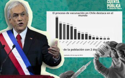 Chile en el top tres de los países más avanzados en la vacunación