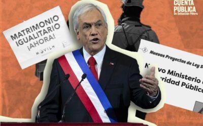 Matrimonio Igualitario, Seguridad y DD.HH.: los anuncios de la última Cuenta Pública de Sebastián Piñera