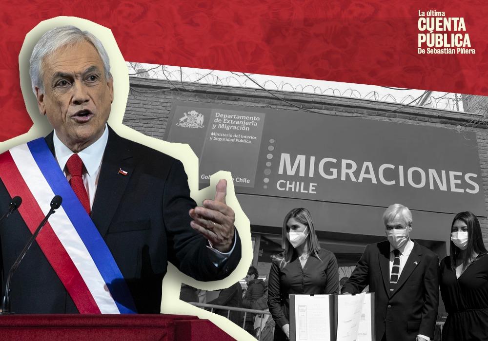 Ley de migraciones en vigenncia. Falso