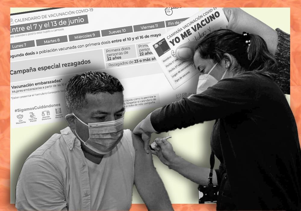 rezagados plan de vacunación