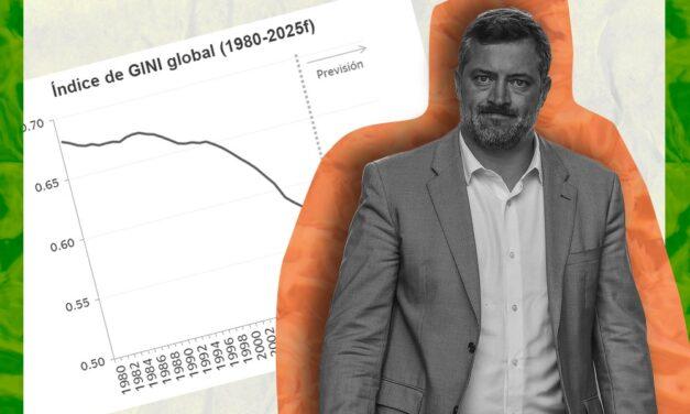 Es verdadero que el índice de Gini ha disminuido lentamente en Chile durante los últimos años