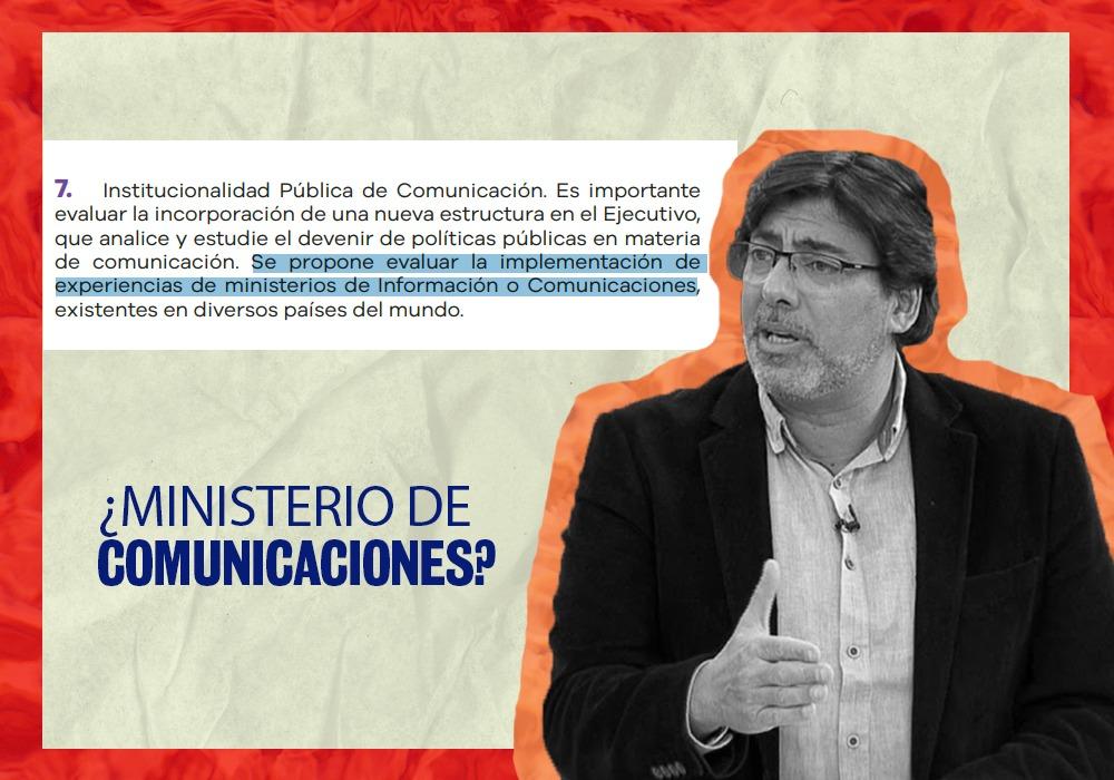 Jadue y el Ministerio de las Comunicaciones