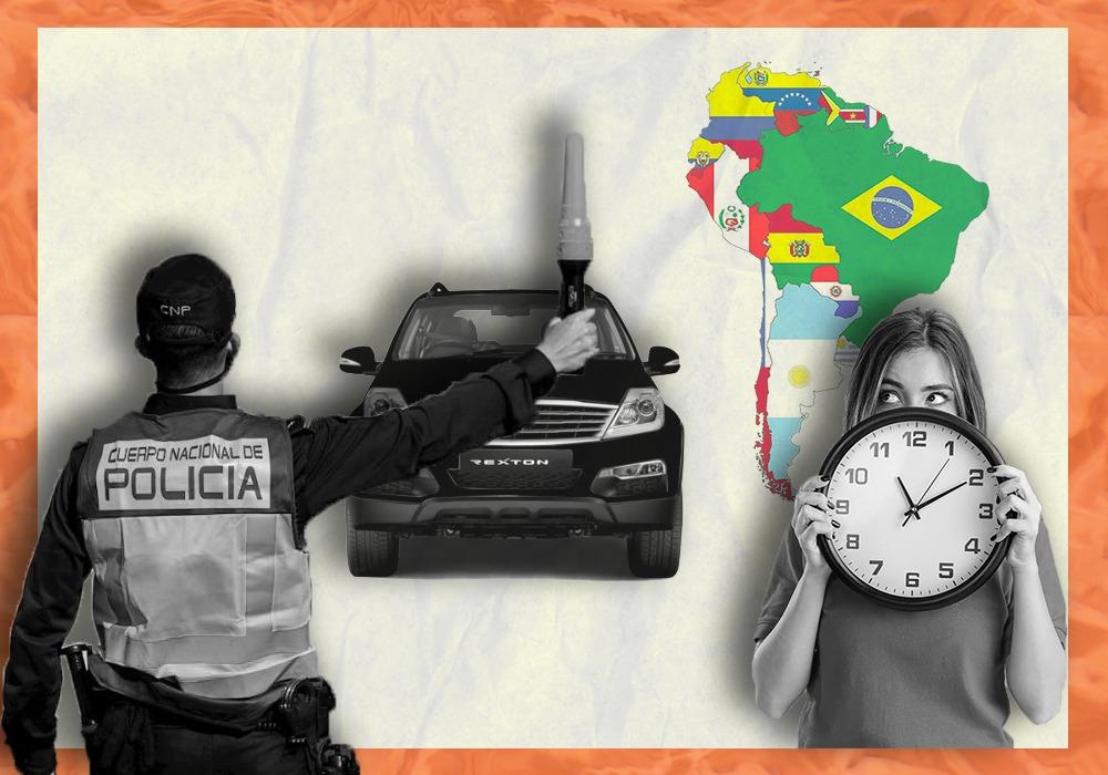 cuarentenas y toques de queda en Sudamérica