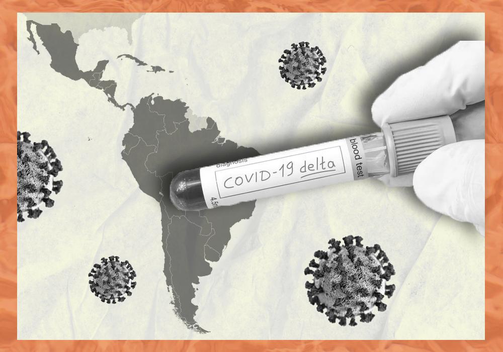 variante delta en latinoamérica