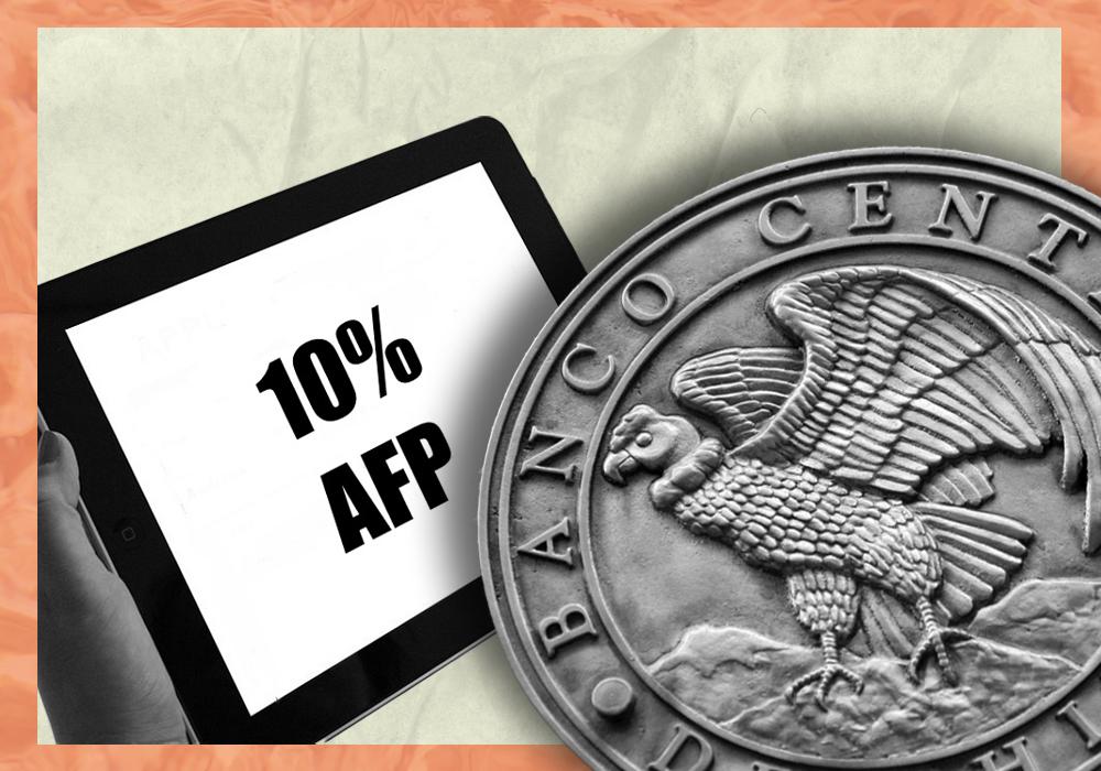 Rol del Banco Central en los retiros del 10% de las AFP
