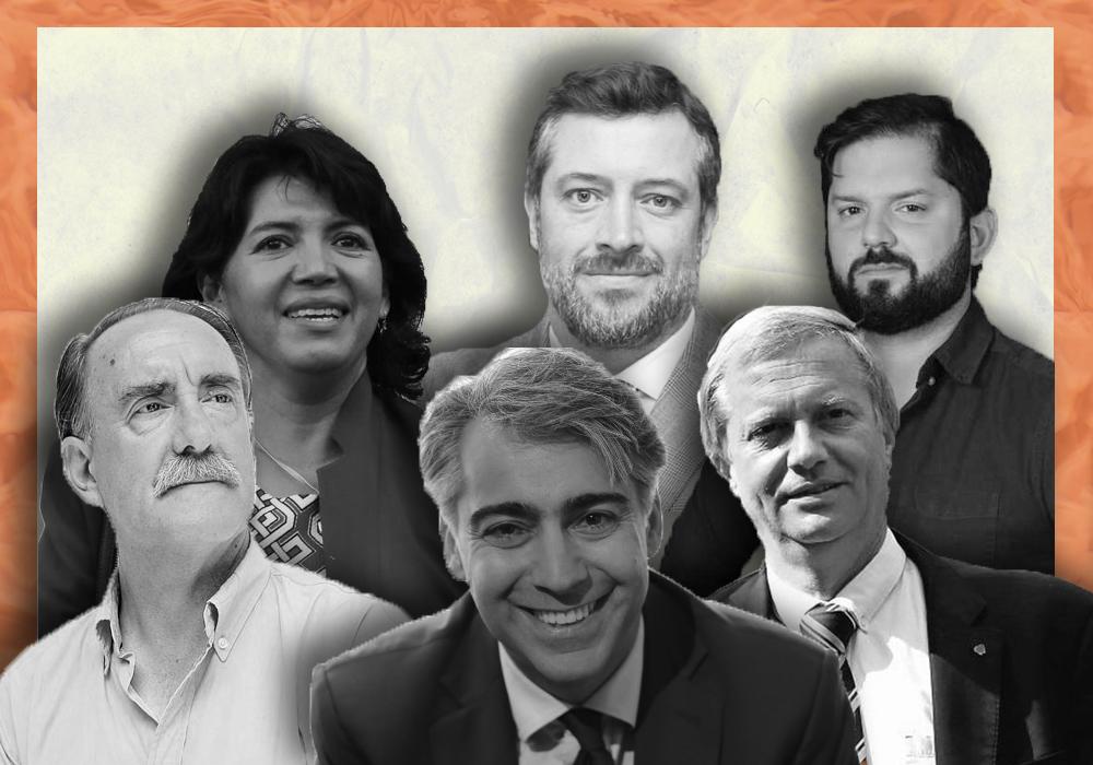 Candidatos en el Debate Presidencial del 11 de octubre
