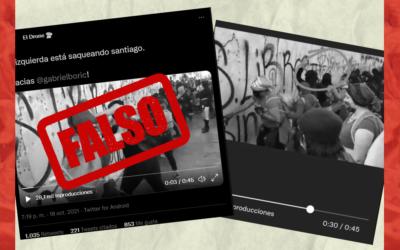 No, esta protesta no fue por el aniversario del 18-O, fue una marcha feminista en México