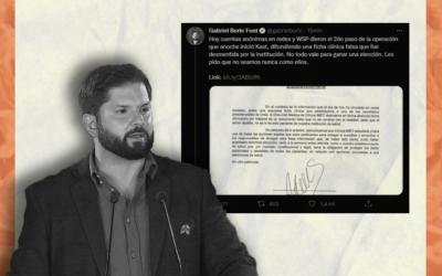 Es falsa la supuesta ficha médica de Gabriel Boric que circula en redes sociales