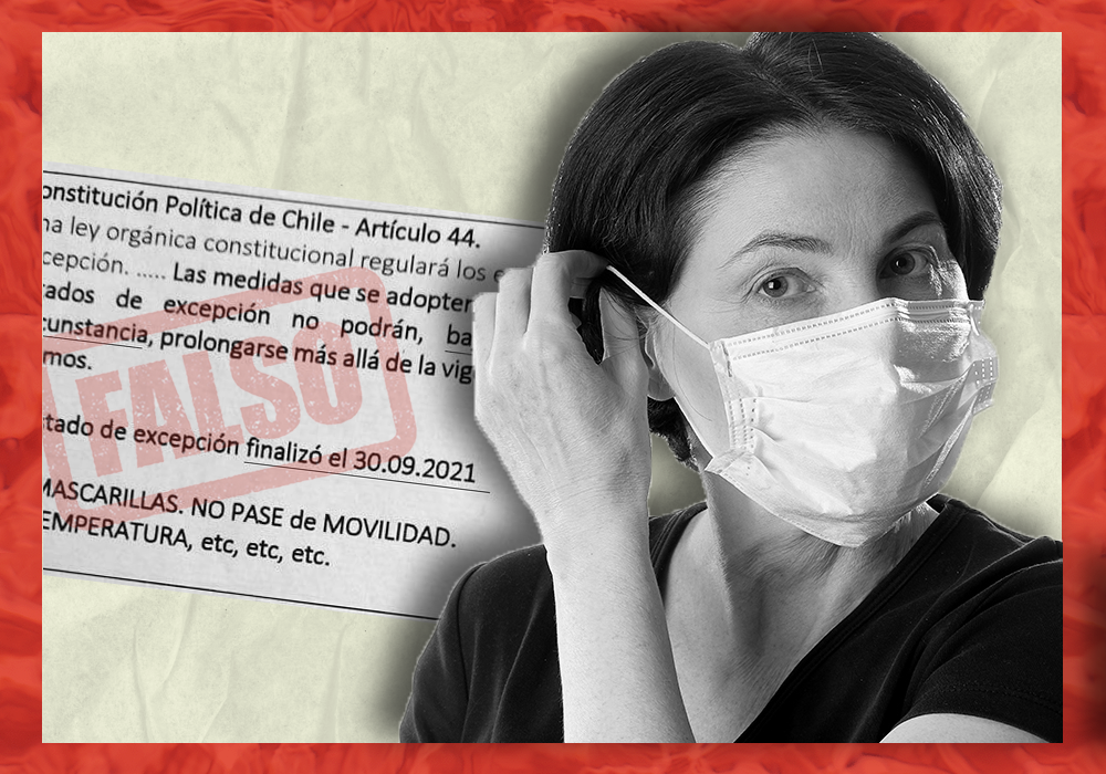 Es falso que mantener las medidas sanitarias es ilegal